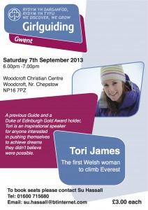 Girlguiding Poster Sept2013